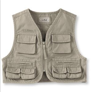 L.L. Bean Infants First Cast Outdoor Vest